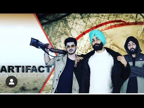#Gtxpreet #Trending  ARTIFACT  -. GTXPREET Ft. ULLUMIMATI NATION / TAJ New Punjabi songs 2020