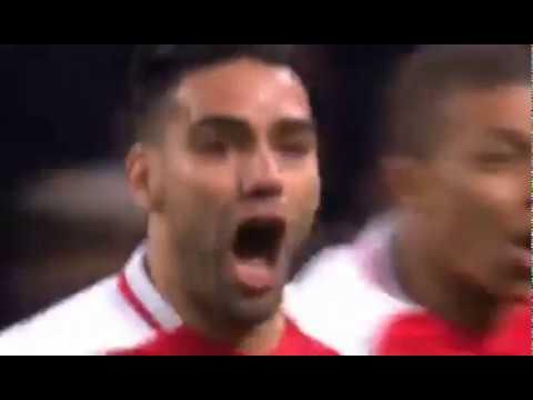 Falcao Amazing Goal 2-3 Manchester City vs Monaco UEFA Champions League 22.02.2017
