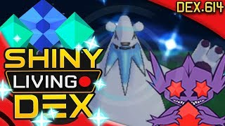 THE GREATEST BIT WAR EVER! SHINY BEARTIC! Quest For Shiny Living Dex #614 | Pokemon XY by aDrive
