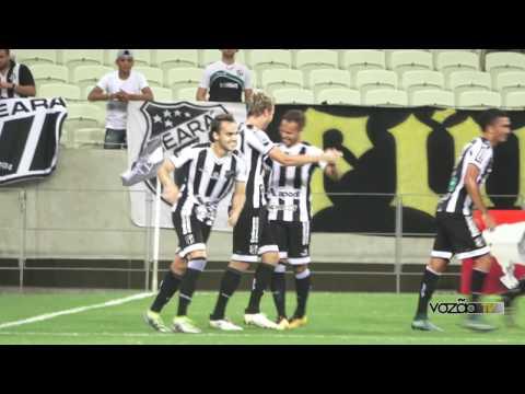 Ceará 2 x 1 Guarany (S) - 4ª Rodada - Cearense 2017