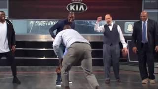 EJ's Neato Stat: Shaq Tackles Charles Barkley  Inside the NBA...