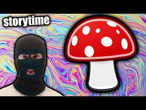 HE STOLE MY MUSHROOMS (storytime)