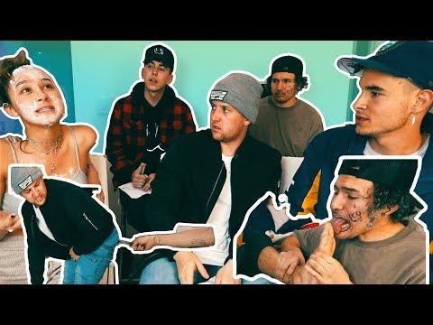 Finish The Lyric W/ My Roommates *Bad Consequences* (видео)