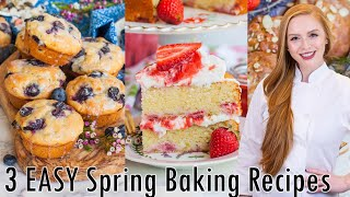 3 Easy Spring Baking Recipes by Tatyana's Everyday Food