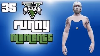 GTA 5 Online Funny Moments Ep. 35 (Pee Fountain, Knuckle Cracking, Body Glitch)