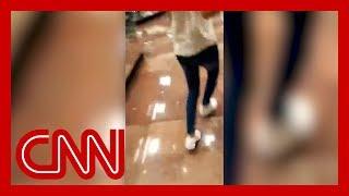 People frantically flee El Paso mall in active shooting