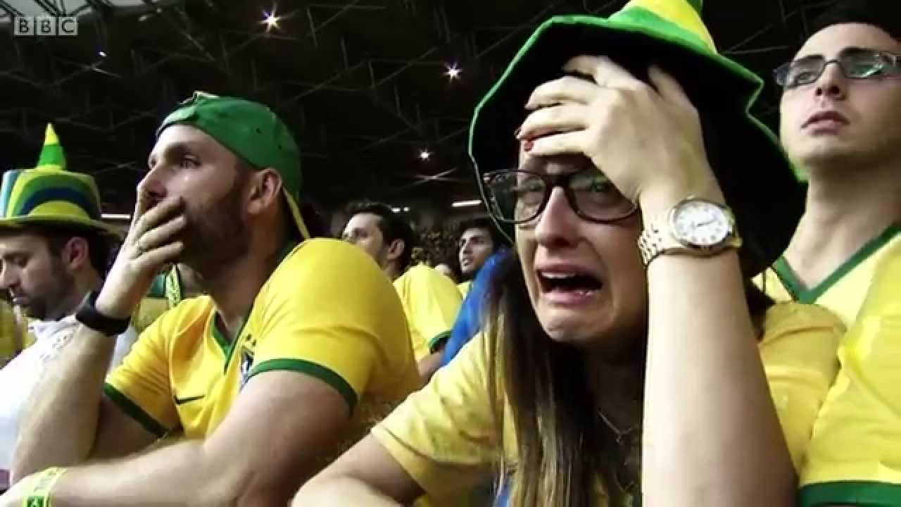 BBC FIFA World Cup 2014 – Reaction to Brazil's humiliating 7-1 loss to Germany