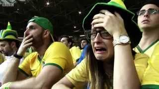 Video BBC FIFA World Cup 2014 - Reaction to Brazil's humiliating 7-1 loss to Germany MP3, 3GP, MP4, WEBM, AVI, FLV Oktober 2017