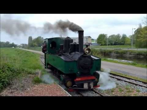 TTVS: Train touristique de la vallée de la Scarpe (6 mai 2012)
