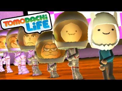 Tomodachi Life: Finn's Song, New Adventure Time Miis Gameplay Walkthrough PART 14 Nintendo 3DS