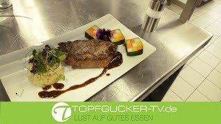 Havelländer Wagyu Rind | Gemüse Mosaik | getrüffeltem Kartoffelpüree