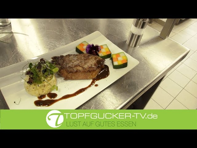Havelländer Wagyu Rind   Gemüse Mosaik   getrüffeltem Kartoffelpüree