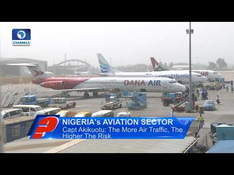 How To Improve Nigeria's Aviation Sector--Capt Akikuotu Pt.1  Question Time 