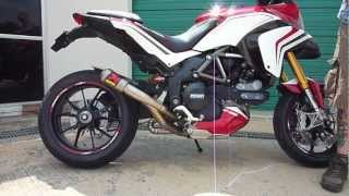9. Ducati Multistrada 1200 Video Akrapovic Evolution Full Exhaust