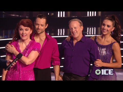 Dancing with the Stars 28 Dance-Off - Sean Spicer & Jenna vs. Kate Flannery & Pasha   LIVE 11-4-19