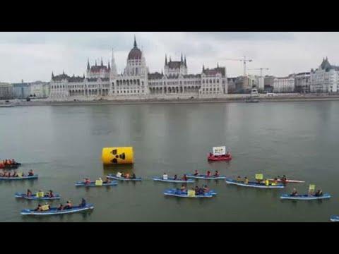 Βουδαπέστη: Η Greenpeace εναντίον της επέκτασης πυρηνικού εργοστασίου