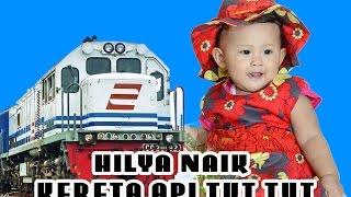 VIDEO ANAK - naik kereta api tut tut tut
