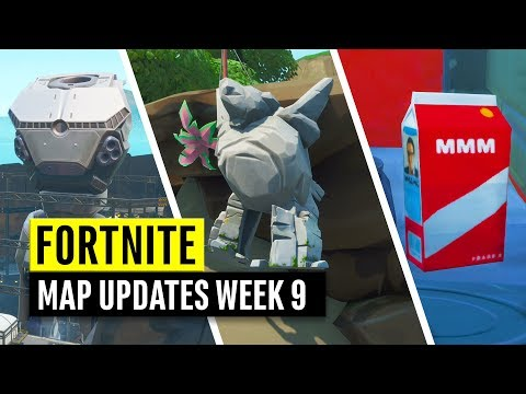 Fortnite | Map Changes And Secret Updates! Week 9 Season 9