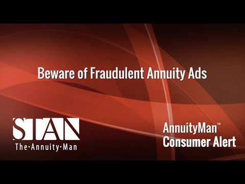 Beware of Fraudulent Annuity Ads