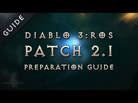 6 Ways to Prepare for Patch 2.1 in Diablo 3 Reaper of Souls