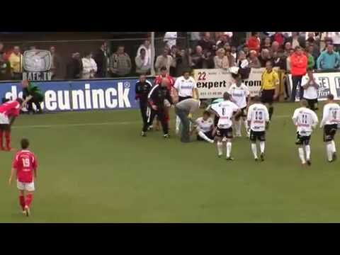 Soccer player Anthony Van Loo survives Sudden Death (not a heart attack). (ANNOTATED)