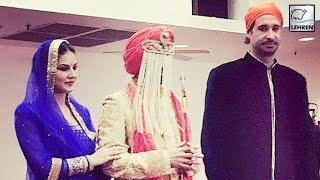 Sunny Leone's DESI LOOK At Brother's Wedding  Daniel Weber  ...