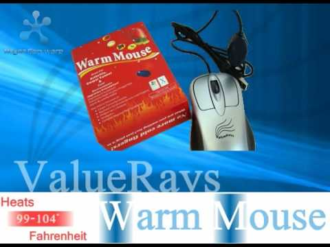 Heated Computer Mouse-ValueRays® Warm Mouse