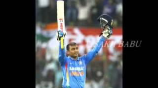 Sehwag Double Century Against West Indies  [219 Out Of 149 Balls]