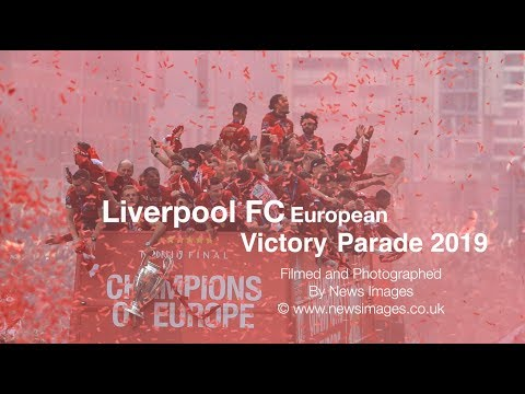 Liverpool FC European Victory Parade 2019 THE BEST YNWA at the end!!!