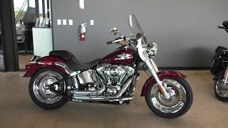 6. 015974   2015 Harley Davidson Softail Fat Boy   FLSTF Used motorcycles for sale