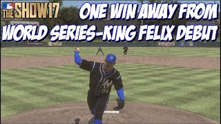 One win away from making the WORLD SERIES!  Diamond King Felix also making his debut!  Leave a Like and Subscribe for MLB The Show 17!➠Twitter - https://twitter.com/KPritz21Check out my MLB The Show 17 Playlists!➠ Ranked Seasons - https://www.youtube.com/playlist?list=PL5AHVL-omk8OB2IzhUoDwOmGViHd4BYvC➠ Epics, Missions, Packs & Programs - https://www.youtube.com/playlist?list=PL5AHVL-omk8PzjCnMDW8Efqr-wuc_sydQ➠ Road To The Show - https://www.youtube.com/playlist?list=PL5AHVL-omk8PmZI0c52cTu0iLCTt7OZ5hThanks for Watching!!