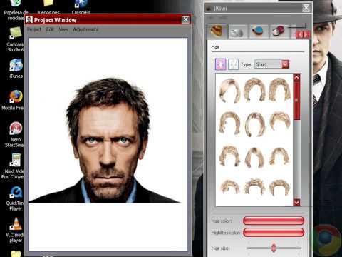 Cambia tu peinado kon este programa