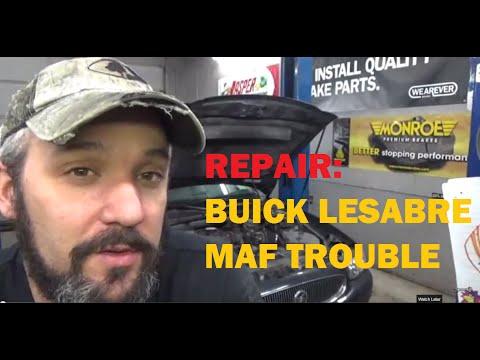Repair Buick LeSabre P0102 MAF Trouble