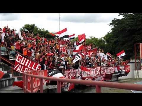 LOS DEMONIOS ROJOS en Guanare - Llaneros FC Vs Caracas FC l TA2013 l 18-08-2013 - Los Demonios Rojos - Caracas