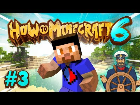 EXPLORING THE SEA! - How To Minecraft #3 (Season 6)