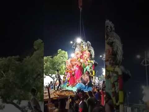 Durga bhavani association / Ganesha immersion /  East marred pally