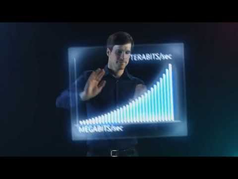 holographic animation -