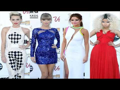 Billboard Music Awards 2013: Miley Cyrus, , Selena Gomez, Nicki Minaj on Blue Carpet