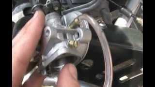 9. 49cc Carburetor leak solution