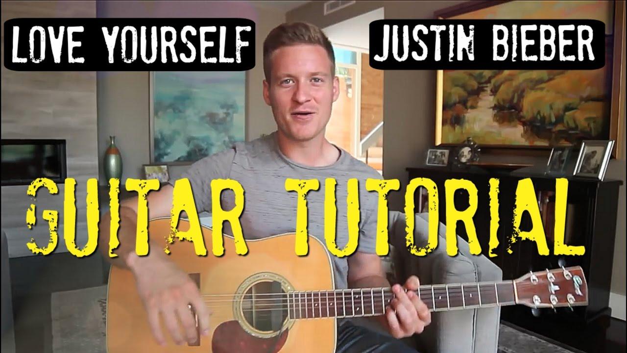 Justin Bieber – 'Love Yourself' – Guitar Tutorial!