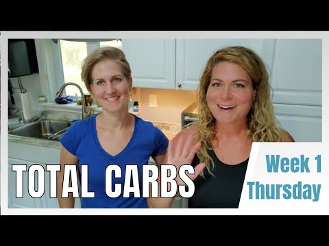 Keto Rewind Total Carb Challenge Week 1 Thursday - Full Day of Eating Keto Plus Macros Explained