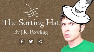 THE SORTNG HAT QUIZ  - by J.K. Rowling