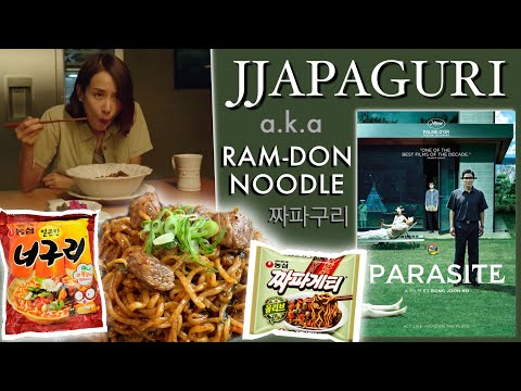 SIGNATURE NOODLE from Oscar Awarded Movie PARASITE.