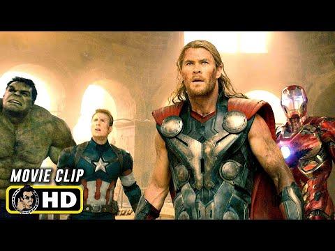 AVENGERS: AGE OF ULTRON (2015) Final Battle [HD] Marvel
