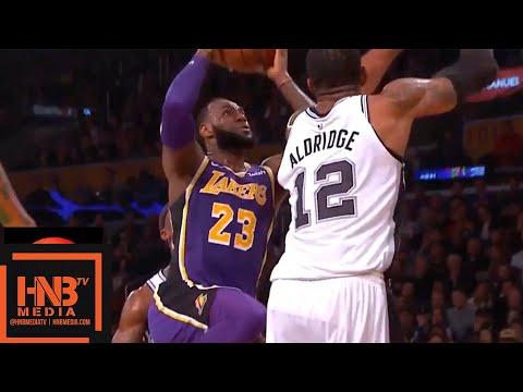 Los Angeles Lakers vs San Antonio Spurs 1st Half Highlights   12.05.2018, NBA Season