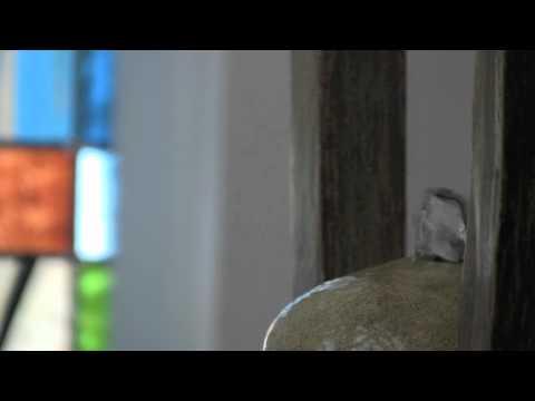 Video for Montra Wood Grain Indoor Tabletop Fountain