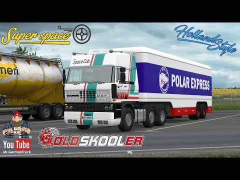 Trailer Kassbohrer for Volvo F88 by XBS 1.34.x