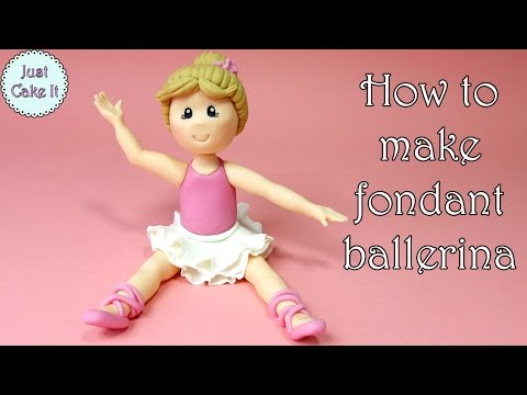 Video How to make fondant ballerina / Jak zrobić figurkę baletnicy z masy cukrowej download in MP3, 3GP, MP4, WEBM, AVI, FLV January 2017
