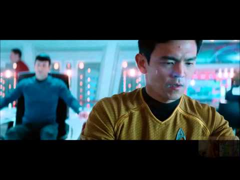 Star Trek Into Darkness - Kirk Negotiates With Khan, Pre Space Jump