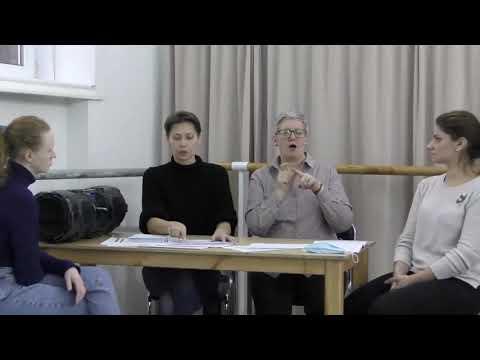 Бидная Е. О.  Ритмический разбор песенного материала со студентами с нарушением слуха
